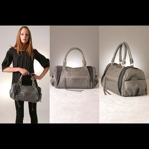 Rebecca Minkoff Matinee Handbag Light Grey Leather